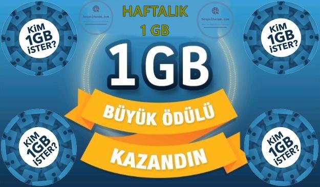 Kim 1 GB İster? Nasıl Yapılır?