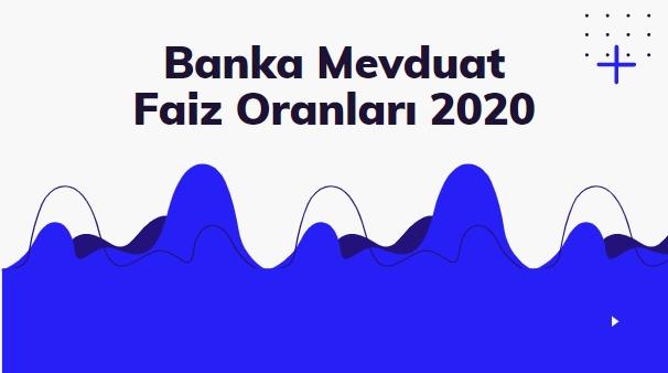 Banka Mevduat Faiz Oranları 2020 2